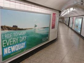 Newquay Tourism Underground Campaign
