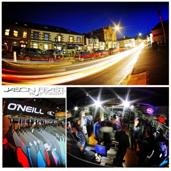 O'Neill Wetsuits Concept Stores
