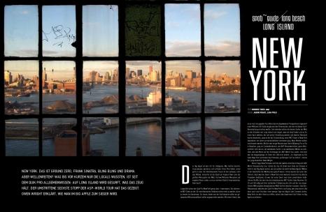 Tide Magazine New York Travel Feature