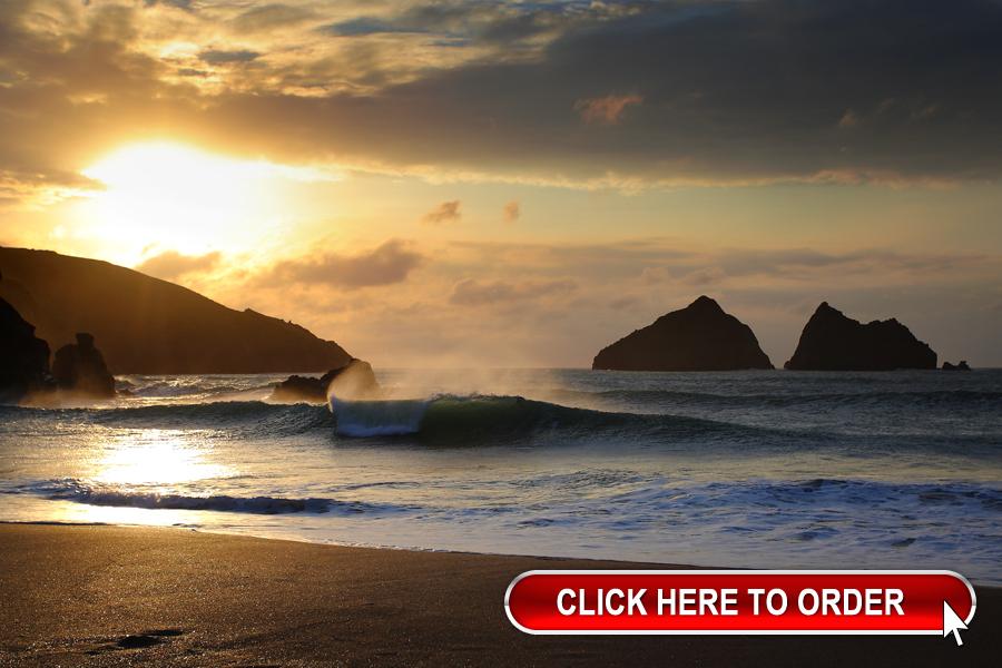 Cornwall golden hour sm