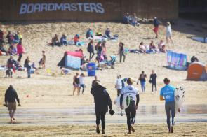 surfers return after heat weds by jason feast